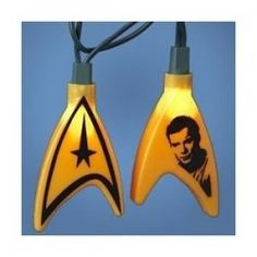 Star Trek Lights - @William Shatner should be hanging from your xmas tree this year!