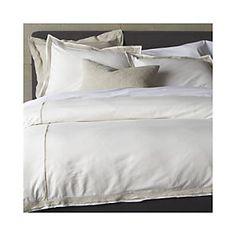 Bianca Duvet Covers and Pillow Shams #crateweddingx100LC