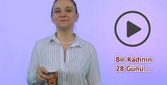 Bir Kadının 28 Günü Mizah Bir Video ile Nasıl Anlatılır