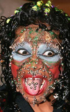 Face piercings people ugly