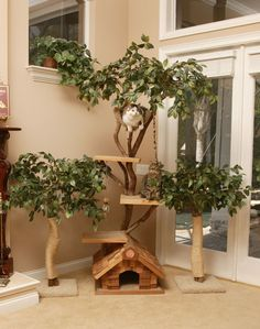 Designer Cat Tree #TreePlan - Top 10 at - Stylendesigns.com!