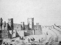 New York Skyline, Spain, Wallpaper, Painting, Travel, Santa Cruz, Andalusia, Seville Spain, 19th Century