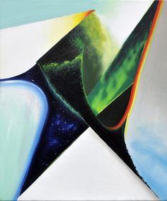 Zukunft Valley, oil on canvas, Julian Lee Oil On Canvas, Abstract, Artist, Artwork, Prints, Future, Summary, Work Of Art, Auguste Rodin Artwork