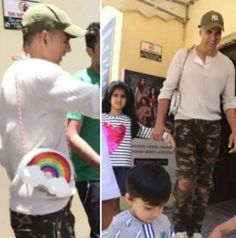 As a parent, Akshay Kumar is very protective about his son Aarav and daughter Nitara. Khiladi Akshay Kumar has always tried to keep his children