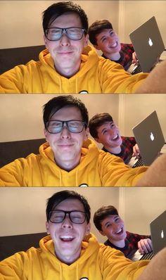 Look at that smile Dan has!!