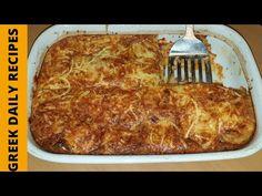 Καταπληκτικό ογκρατέν μελιτζάνας! | Greek daily recipes - YouTube Crockpot Recipes, Keto Recipes, Chicken Recipes, Dinner Recipes, Dessert Recipes, Cooking Recipes, Main Dishes, Side Dishes, Daily Meals