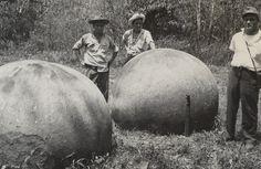 Esferas precolombinas de piedra, Costa Rica.