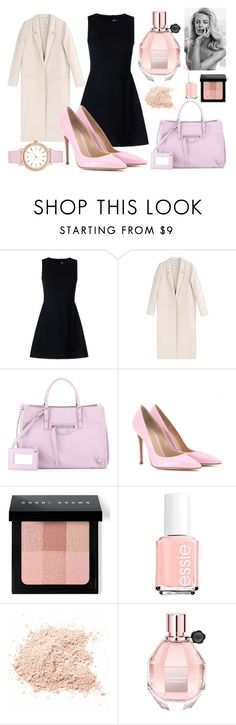 """Untitled #41"" by sashazaiats on Polyvore featuring RED Valentino, Acne Studios, Balenciaga, Gianvito Rossi, Bobbi Brown Cosmetics, Essie, Viktor & Rolf and Kate Spade"