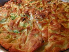 Ζουζουνομαγειρέματα: Πρασοτυρόπιτα!!! Greek Desserts, Greek Recipes, Vasilopita Recipe, Greek Pastries, Quiche, Greek Cooking, Savoury Baking, Spinach Recipes, Family Meals