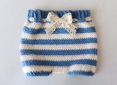 How to Crochet the Diaper Cover