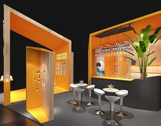 Dream Of Jeannie, Autodesk 3ds Max, Frankfurt, Exhibitions, Behance, Industrial, Gallery, Check, Furniture