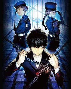 Shin Megami Tensei: Persona 5   Kurusu Akira   Caroline   Justine