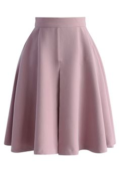Spring Mood A-line Skirt in Lilac - Retro, Indie and Unique Fashion