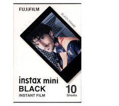 Original Fujifilm Instax Mini Fuji Film Black Frame For Mini 8 7s 7 50s 50i 90 25 dw Share SP-1 Polaroid Instant Photo Camera
