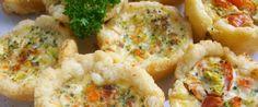 Tiny Quiches Recipe - Genius Kitchensparklesparklesparklesparkle