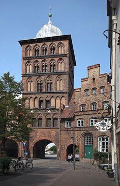 Lübeck - Burgtor - Germany