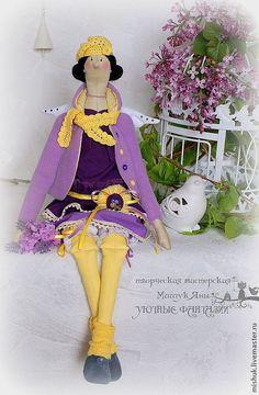 Купить тильда Фея Весенних Цветов - тильда, тильда кукла, феечка, кукла ручной работы