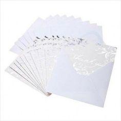30 Wedding Thank You Cards and Envelopes on eBid United Kingdom