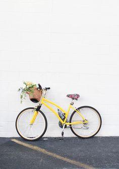 DIY Bike Makeover via @inhonorofdesign ~ have just the bike for a well-deserved makeover! ~
