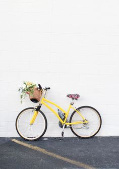 DIY Bike Makeover via @inhonorofdesign ~ have just the bike for a well-deserved makeover! ~