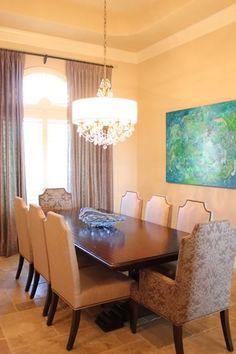 Timeless Dining Design. NR Interiors San Antonio, TX.