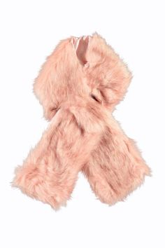 Boohoo Oversize Long Faux Fur Scarf on Shopstyle.