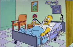 "There's a ""Simpsons"" theory making its way. The Simpsons Show, Simpsons Funny, Simpsons Quotes, Homer Simpson, Gif Animé, Animated Gif, Cartoon Tv Shows, Gifs, Futurama"