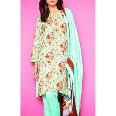 Sea Green Printed Linen Dress Contact: (702) 751-3523 Email: info@pakrobe.com Skype: PakRobe