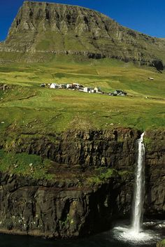 Faroe Islands. If I way beyond rich this is where I would retire to. It's so beautiful!!!!