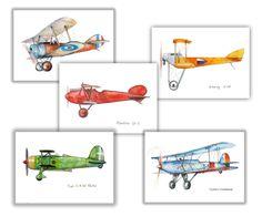 Airplane decor for nursery Prints military retro aircraft Warercolor Poster Boy's art Aviation art Baby boy nursery wall art by Mirabilitas on Etsy https://www.etsy.com/il-en/listing/251957156/airplane-decor-for-nursery-prints