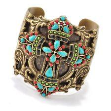 Mayan Cross Cuff $68.00 Handcrafted in the U.S.A