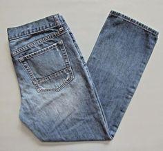 GAP Slim Boyfriend Jeans 28 6 Factory Cotton Medium Mid Rise Cotton Denim Ankle #GAP #BoyfriendAnkle