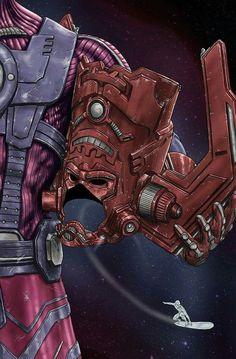 Helmet Series: Galactus by Scott Zambelli