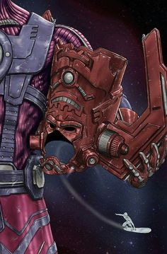 Helmet Series: Galactus by Scott Zambelli