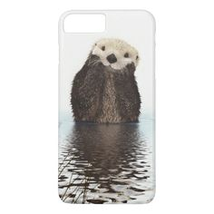 cute Otter iPhone 7 case by californian_dreamer on Zazzle @zazzle #phone #cases #iphone #samsung #galaxy #apple #fun #cool #hip #shop #buy #sale #funny #illustration #drawing #cute #otter #animal #planet #earth #funny #river #stream #nature #swim #swimming #swimmer
