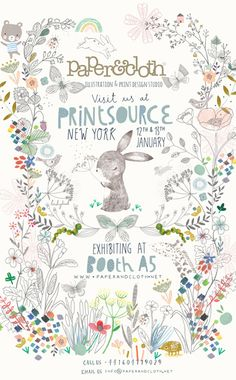 print & pattern: PRINTSOURCE - opens today