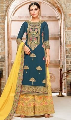 a2b279bcc9 30 Best Latest Fashion Designer Palazzo Suits images in 2019 ...