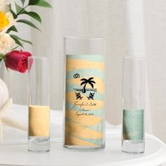 Personalized Sand Unity and Vase Sets