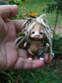 Adorable fairy from Though the Magic Door on Etsy!