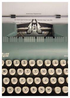 Poster Typographique / Tom Davie | Design Graphique