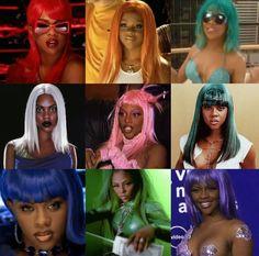 New post on jamaicanblackcastoroil Pretty Black Girls, Black Girl Art, Beautiful Black Women, Black Girl Magic, Lil Kim 90s, Black Hair 90s, Black 90s Fashion, Desu Desu, Art Noir