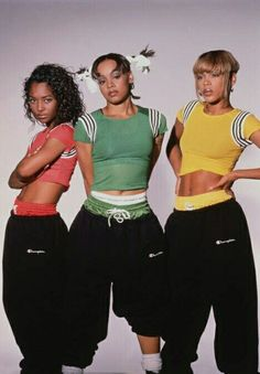 """TLC, former R&B and hip-hip music trio, comprised of singer Tionne """"T-Boz"""" Watkins, rapper Lisa """"Left Eye"""" Lopes (R.I.P.) and singer Rozonda """"Chilli"""" Thomas. Their debut album Ooooooohhh... On the TLC Tip, sold 6M copies worldwide, their 2nd album, CrazySexyCool, was certified diamond, - a 1st for a female group, selling 23M copies worldwide, and their 3rd album FanMail, sold 11M+ copies worldwide. Their hits include Creep, No Scrubs, What About Your Friends, Ain't 2 Proud 2 Beg, Baby Baby…"""