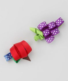 Love this grape clip - Amanda, new idea for tu-tu cute??   Pink Poseys Bowtique
