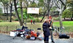 Jazz and Colors at Central Park from My Walking Pictures Blog // #jazzandcolors @Central Park