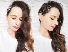 Rano wyszła spod moich rąk ostatnia #panna #mloda w tym sezonie i tak się nakrecilam że spędzam popołudnie czeszac #fryzury #slubne:) i przy okazji testuje nową biżuterię do włosów  #NIVEAhairChallenge #WeddingHair #handmade #jewellery #diamonds #wedding #hairstyle #brunette #polishgirl #me #hairblogger