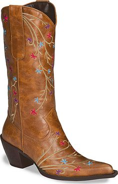 Embroidered Cowboy Boots?  Now you're talkin'.