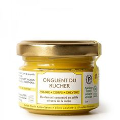 Onguent du Rucher Bio Ballot-Flurin Propolis, Coconut Oil, Jar, Food, Foot Care, Soft Hair, Beauty Care, Relationship, Essen