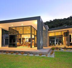 Casa Paratiho en Nueva Zelanda Diseño Integrado en el Entorno | Decoration Digest