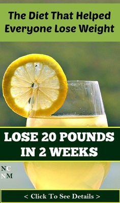 Wonder Diet That Helped Everyone Lose 20 Pounds in 2 Weeks