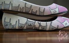 sapatilha customizada